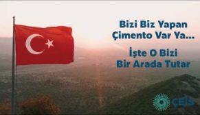 """ÇEİS'ten Türkiye'ye umut ve destek veren reklam filmi: """"Bizi Biz Yapan Çimento"""""""