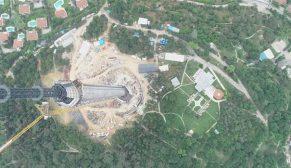 Çamlıca Kulesi 365 metreye ulaştı