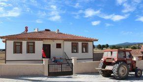 Köysel Dönüşüm kapsamında örnek iki köy tamamlandı