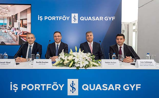 İş Portföy Quasar GYF güvencesi ile İstanbul'un en ayrıcalıklı yaşamı Quasar İstanbul'da!