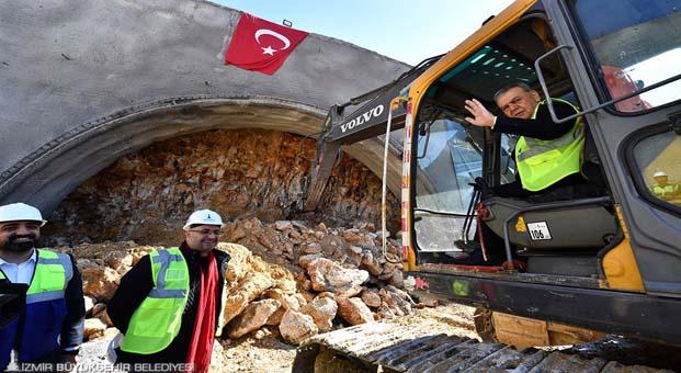 """İzmir'in """"en uzun tüneli"""" olacak"""