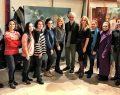 İyilik İçin Sanat Derneği üyelerinden, Atölye Pasaj'ın genç sanatçılarına ziyaret