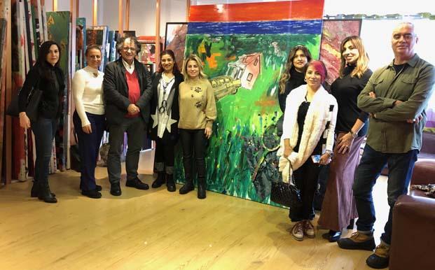 İyilik İçin Sanat Derneği üyelerinden Bedri Baykam'la sanat sohbeti