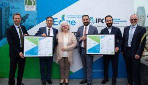 IFC Türkiye'de Greenox ev sahiplerine ilk EDGE yeşil bina sertifikalarını dağıttı