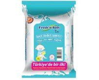 Tuvalet eğitiminin eğlenceli hali; Fresh'n Soft Islak Tuvalet Kağıtları