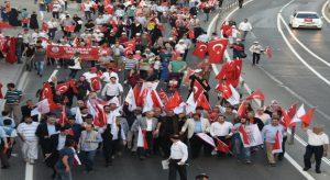 """""""Milli Birlik Yürüyüşü sonsuza dek sürecek bir yürüyüştür"""""""