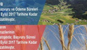 2B ve Hazine'ye ait tarım arazileri için başvuru ve ödeme süresi 7 Eylül'de bitiyor