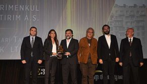 """""""Tamamlanmış En İyi Konut Projesi"""" Ödülü 3S Firuze Konakları'nın oldu"""