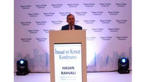 """Hasan Rahvalı; """"Sektörün en büyük sorunu konut stokudur."""