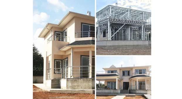 Prefabrik hafif çelik evler ile güvenli yaşam