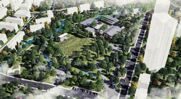 Ataşehir'in Yeni Çekim Merkezini Studio Vertebra Tasarladı: Ataşehir Belediyesi Kent Parkı