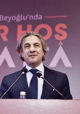 Ahmet Misbah Demircan: Beyoğlu hayalimize birlikte hayat verdik