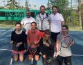 8. Business Tennis Cup turnuvasında heyecan başladı