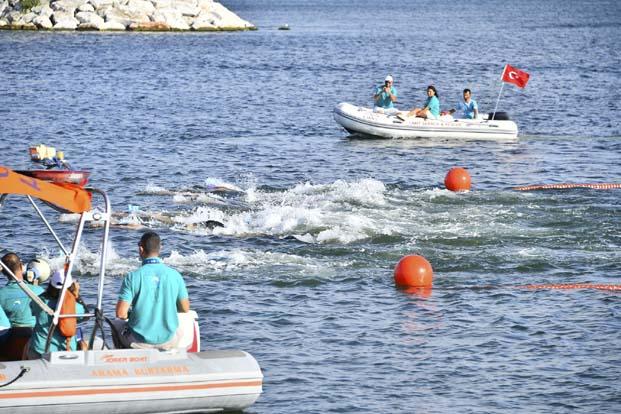 CMAS 20. Paletli Yüzme Avrupa Gençler Şampiyonası'nda 10 dünya rekoru kırıldı