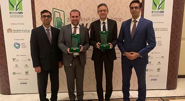 Sürdürülebilirlik şampiyonasında Carrier Orta Doğu'ya iki ödül birden