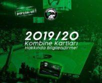 2019/20 sezonu kombine kartları hakkında bilgilendirme!