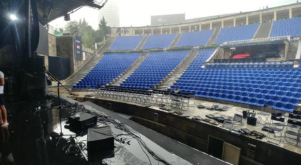Duman konseri hava muhalefeti sebebiyle 2 Ağustos Çarşamba gününe ertelendi