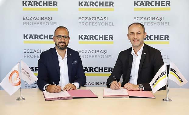 Eczacıbaşı Profesyonel ve Kärcher'den işbirliği!