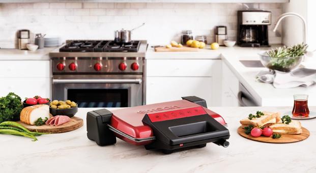 Pita Tost Makinesi ile okulda da ev tostu!