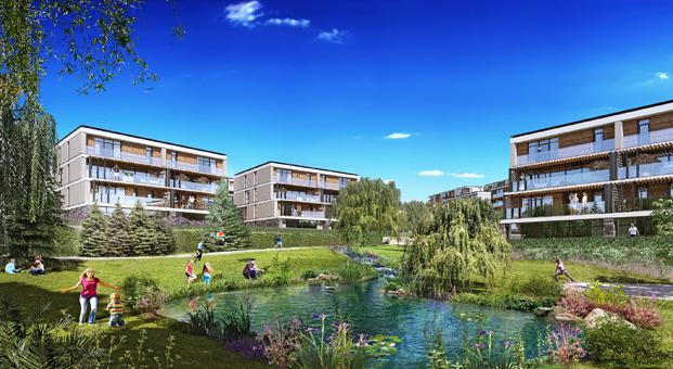 Bahçeşehir'in en güzel projesi Eston Şehir Mahallem'de son 10 daire