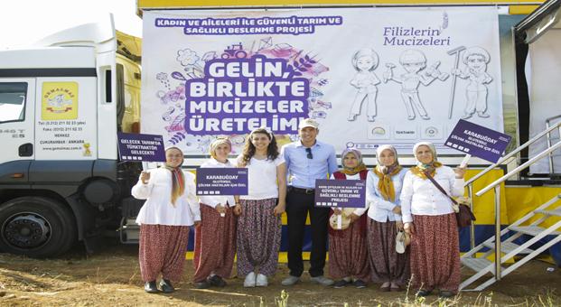 Filizlerin Mucizeleri Projesi ile ekilen Türkiye'nin ilk karabuğdayı sofralara gelmek üzere hasat edildi