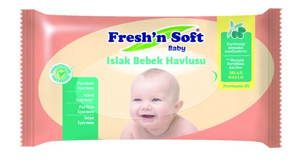 Fresh'n Soft bebek havlusu ile bebeğinize hassas bir dokunuş…