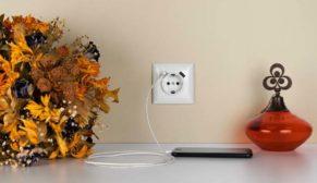 Günsan 2 USB portlu topraklı prizle adaptör karmaşasına son!