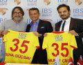 Göztepe'nin forma sırt sponsoru IBS Sigorta oldu
