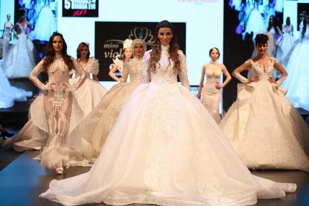 Gelin Damat Fashion Day, Çırağan'da moda rüzgarı estirdi