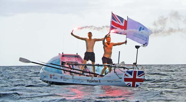 Hyperion Atlantic Challenge kırdığı dünya rekorlarına bir yenisini daha ekledi