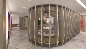 EDDA Mimarlık'tan çalışan motivasyonunu odak alan tasarım:  IMAK Ofset Yönetim Ofisi