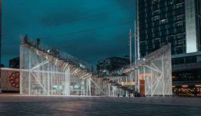 """Taksim Meydanı'ndaki """"Kavuşma Durağı"""" IND [Inter.National.Design] Mimarlık'tan Arman Akdoğan tarafından tasarlandı"""