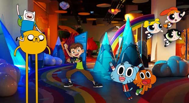 """Imagineer Kids """"Cartoon Network Bilinmeyenler Dünyası"""" sergisi ile 42 Maslak'ta açıldı"""