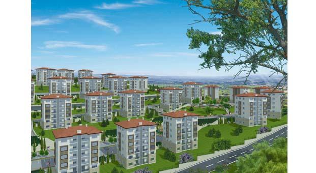 KİPTAŞ 'Çatalca Konutları'nda hak sahiplerinin daireleri kura ile belirlendi