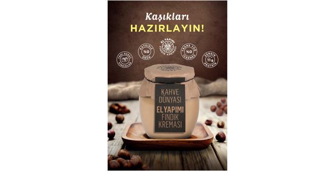 Kahve dünyasının yeni lezzeti: Fındık Kreması