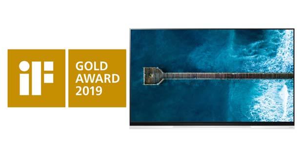 LG OLED TV, üstün tasarımıyla iF Altın Ödülü'ne layık görüldü