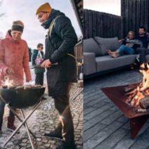 Dış mekanları ısıtacak modern tasarımlar