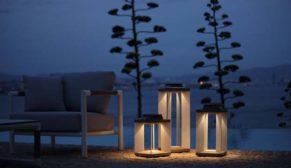 Bahçelerin sıradışı aydınlatmaları Türkiye'de