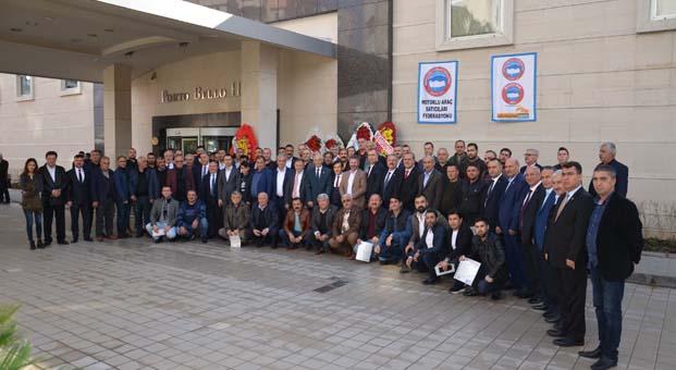 Antalya'da mesleki yeterlilik belgeleri dağıtıldı