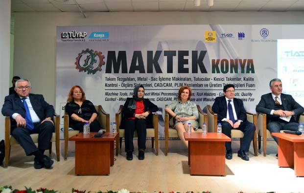 Sanayide Mühendis ve Kadın Olmak' paneli MAKTEK Konya'da gerçekleşti