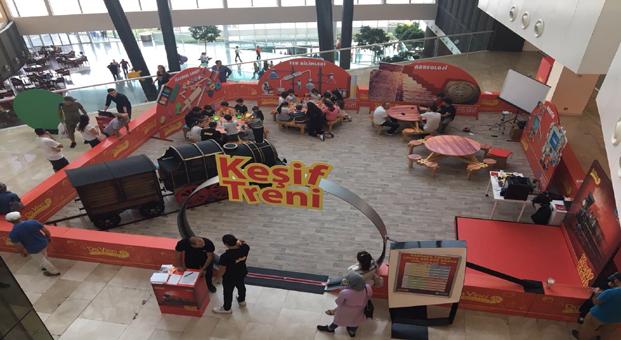 Eğlenceli bilginin adresi: Da Vinci Learning Keşif Treni, Marmara Forum'da
