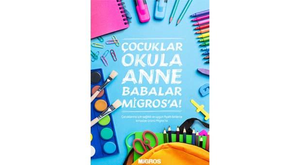 Migros'ta okul alışverişi uygun fiyatlarla velileri sevindirecek