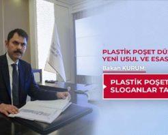 Plastik poşetler çevreci sloganlar taşıyacak