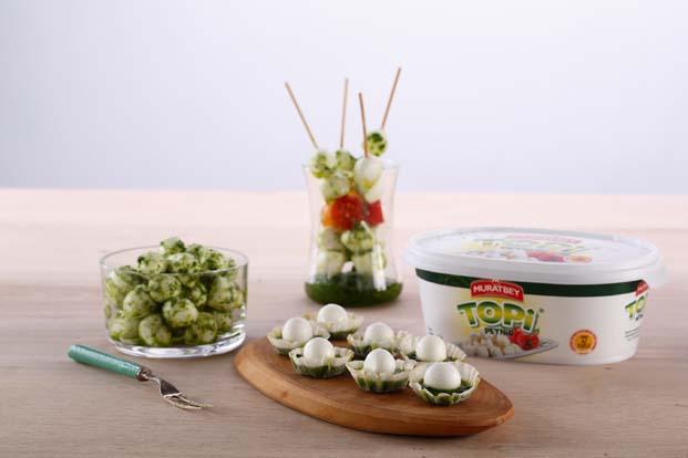 Peynirin en lezzetli ve eğlenceli hali Muratbey Topi ile sofralarda renkli sunumlar