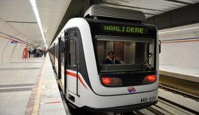 Ve şimdi sıra Narlıdere metrosunda