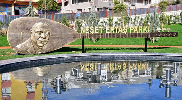 Neşet Ertaş Parkı,13 Ocak Cumartesi günü açılıyor