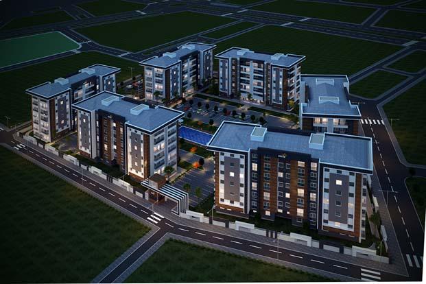 Note Yapı Antalya'da inşa ediyor,yabancılar yatırıma koşuyor