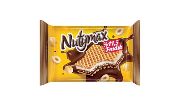 Nutymax'ten yeni bir lezzet: Nutymax Gofret