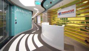 OSO Mimarlık'tan firma kimliği ile bütünleşik tasarım:Transbatur Yönetim Ofisi