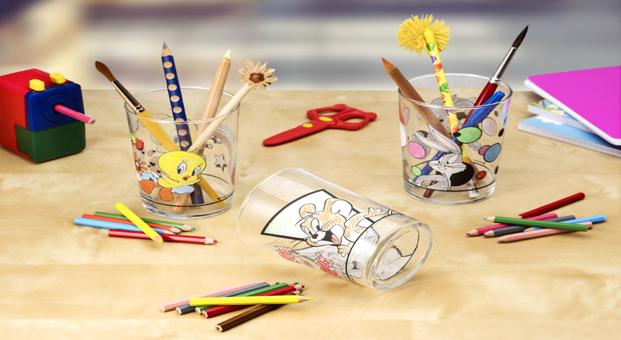 Çocuklar renkli hayallerini Paşabahçe kalemliklere yansıtacak